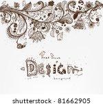 stylish floral background