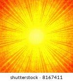 grunge sunbeam | Shutterstock . vector #8167411
