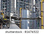 industrial building  steel... | Shutterstock . vector #81676522