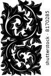 floral ornament | Shutterstock .eps vector #8170285
