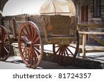 Vintage Carriage  Wild West...