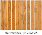 collection of wood planks... | Shutterstock . vector #81736192