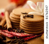 Christmas Cookies And Spices....
