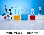 laboratory glass | Shutterstock . vector #81805744