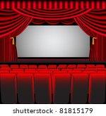 illustration premises theater... | Shutterstock . vector #81815179