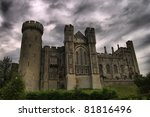 View Of Arundel Castle In...