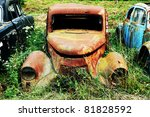 Rusty Old Car Wreck