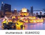Buckingham Fountain At Night I...