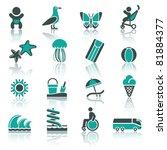 recreation  vacation   travel....   Shutterstock .eps vector #81884377