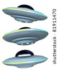 ufo | Shutterstock . vector #81911470