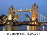 Tower Bridge  London At Sunset  ...