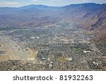 aerial view of palm springs ...   Shutterstock . vector #81932263
