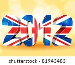 3d 2012 Made From A Union Jack...