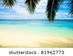 wallpaper view island | Shutterstock . vector #81962773
