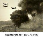 World War Ii Era Battlefront...