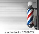 Old Fashioned Vintage Barber...