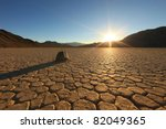 sand dune formations in death... | Shutterstock . vector #82049365