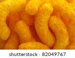 Cheese Puffs Close Up...