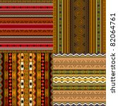 decorative traditional african... | Shutterstock .eps vector #82064761