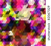 abstract vector background | Shutterstock .eps vector #82067329