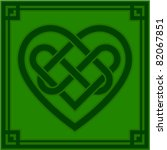 vector illustration of a celtic ...   Shutterstock .eps vector #82067851
