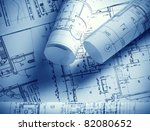 part of architectural project   Shutterstock . vector #82080652