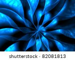 Abstract Fantasy Flower 3d...