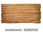 Close Up Of An Empty Wooden...