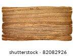 close up of an empty wooden...   Shutterstock . vector #82082926