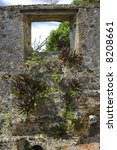 Details At Historic Ruins Of...
