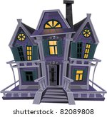 Haunted Halloween Witch House...