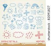 Doodle Set 2   Weather