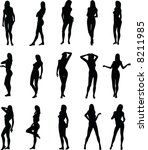 illustration of sexy woman... | Shutterstock .eps vector #8211985