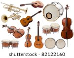 musical instruments collection... | Shutterstock . vector #82122160