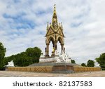 albert memorial  london  uk