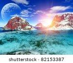 fantasy landscape | Shutterstock . vector #82153387