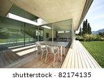 architecture  modern house... | Shutterstock . vector #82174135
