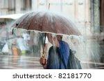 heavy rain | Shutterstock . vector #82181770