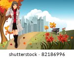 a vector illustration of an... | Shutterstock .eps vector #82186996