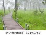 pathway to the tropical...   Shutterstock . vector #82191769