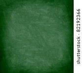 chalkboard blackboard. green... | Shutterstock . vector #82192366