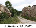 castle ruin | Shutterstock . vector #82199077