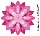 flower origami  recycled paper... | Shutterstock . vector #82204057