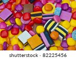 candy sweets with assorted... | Shutterstock . vector #82225456