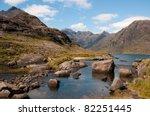 Loch Coruisk In Cuilin Hills  ...
