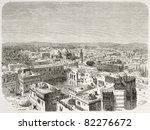 Old Bird Eye View Of Jerusalem...