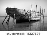 Black And White Photo Of A Big...