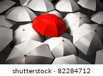 stand out of a crowd  ... | Shutterstock . vector #82284712