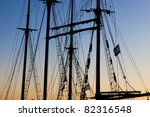 Tackles Sailing Ship On The...