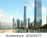 3d render of a building | Shutterstock . vector #82329277